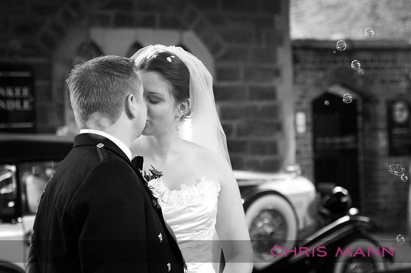 Carolyn & Adam at St. Mary's Stafford