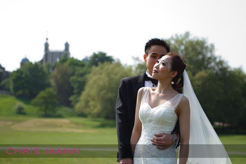 A pre-wedding shoot in Greenwich