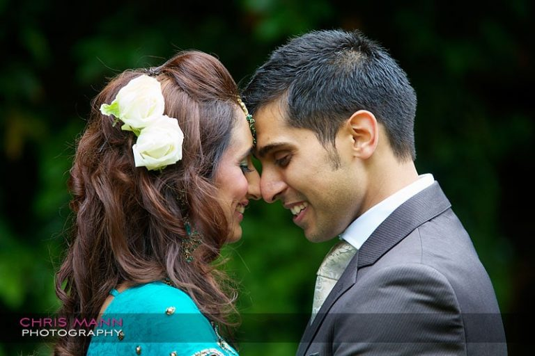 Dharmesh and Rhahkee at Eastbury Manor