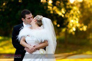 Spring wedding at Fulham Palace
