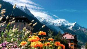 scenic photos – destination wedding Chamonix, France