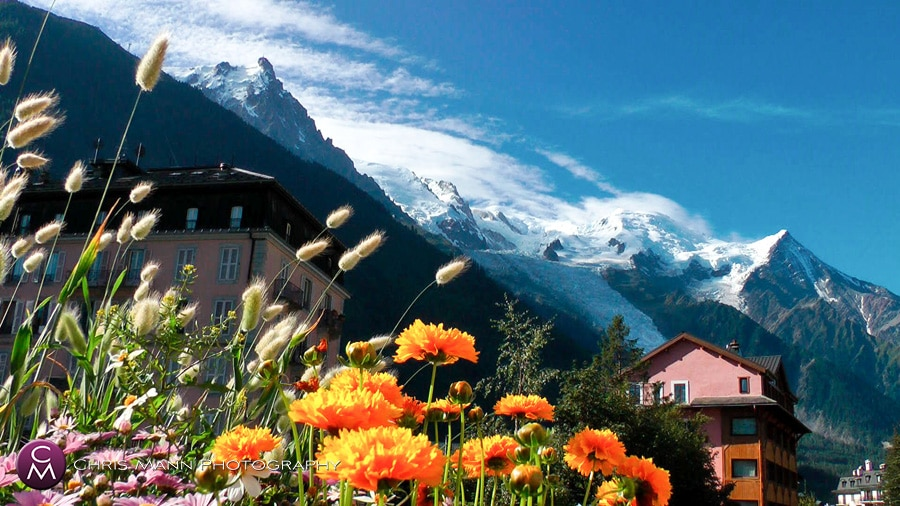 scenic photos – destination wedding Chamonix, France