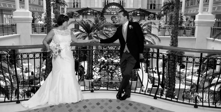 Lucie & Andrea – wedding photography at The Landmark London