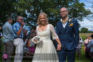 Knepp Castle Horsham wedding photos – Juliette & Howard