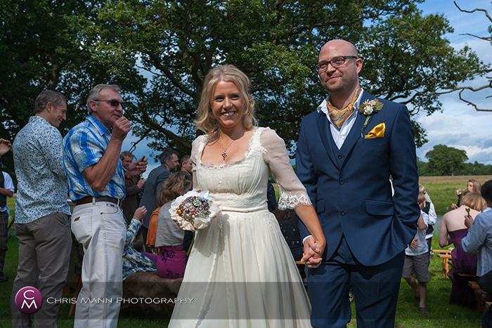 Knepp Castle Horsham wedding photos – Juliette & Howard