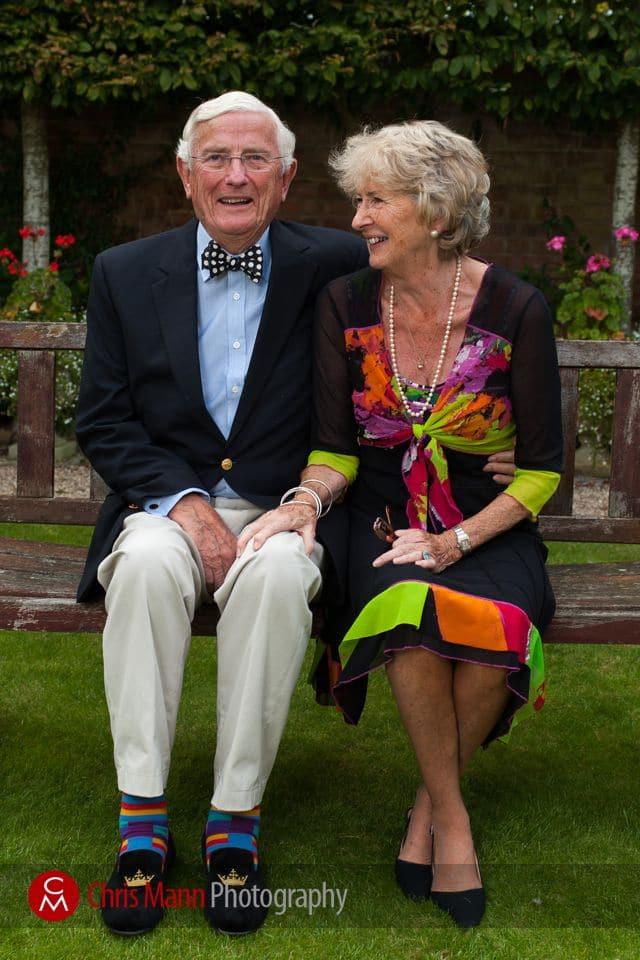 wedding anniversary portrait couple