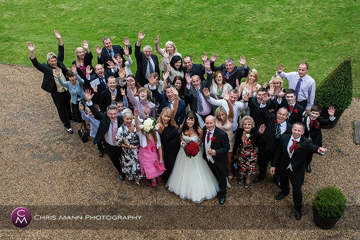 Justine & Ray's wedding at St Lawrence Effingham & Woodlands Park Hotel