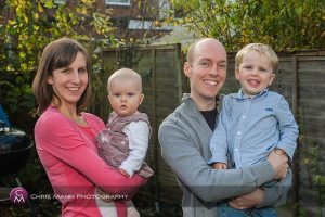Family portrait session in Guildford