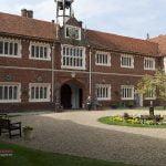 Gosfield Hall Essex courtyard