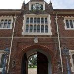 Gosfield Hall Essex entrance arch