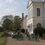 Gosfield Hall Essex terrace