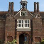 Gosfield Hall Essex tudor gateway