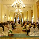 Landmark Hotel London wedding ceremony