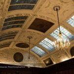 Thornton Manor Music Room ceiling