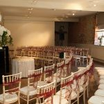 walled garden at cowdray wedding civil ceremony room