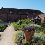 walled garden at cowdray wide view