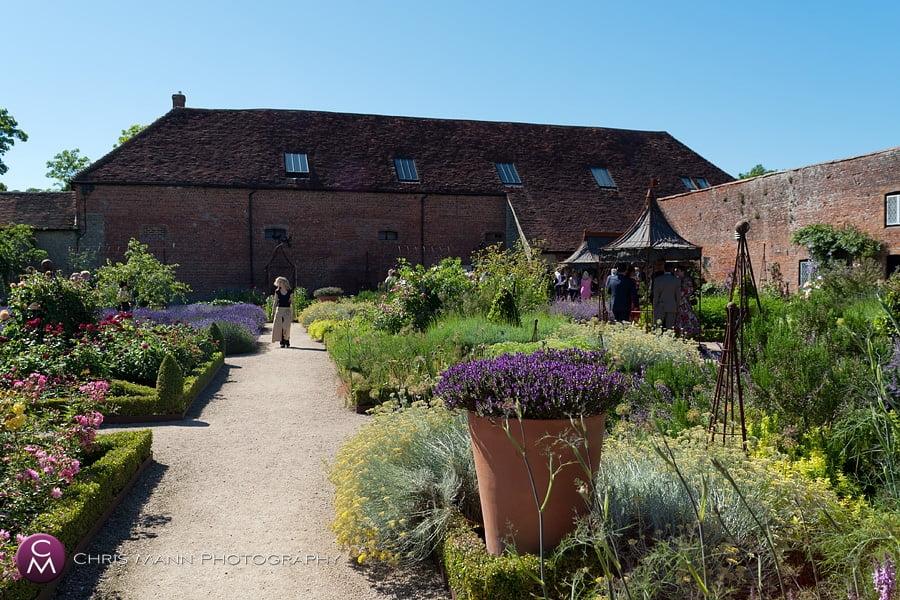 Walled Garden Cowdray West Sussex wedding venue