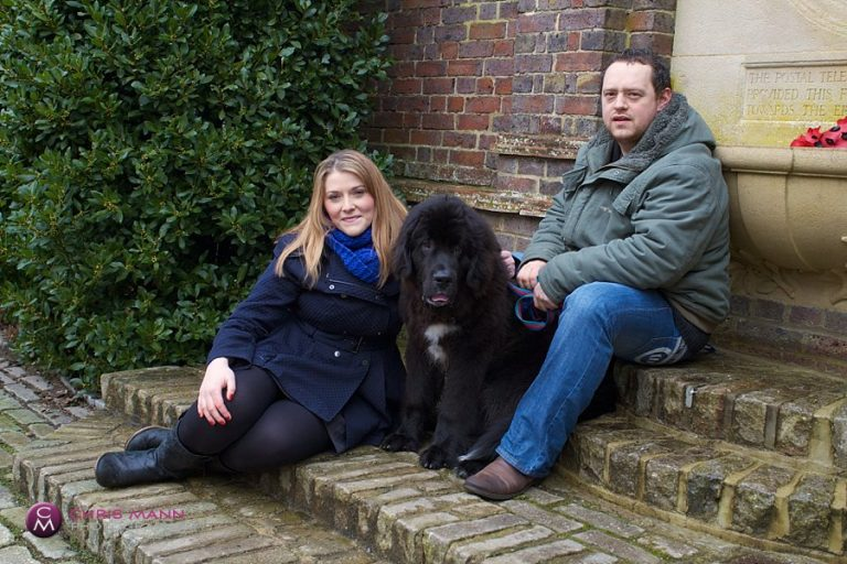 Jo & Al's engagement shoot in Godalming