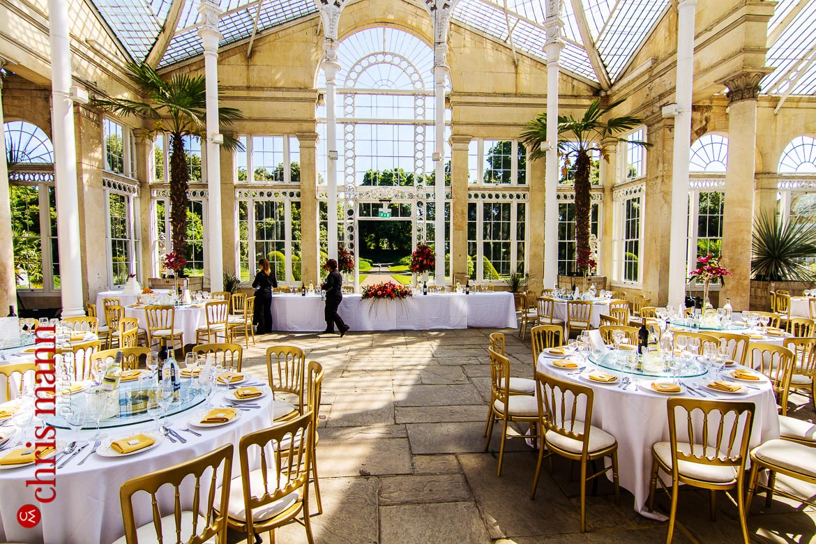 interior of Great Conservatory Syon Park London