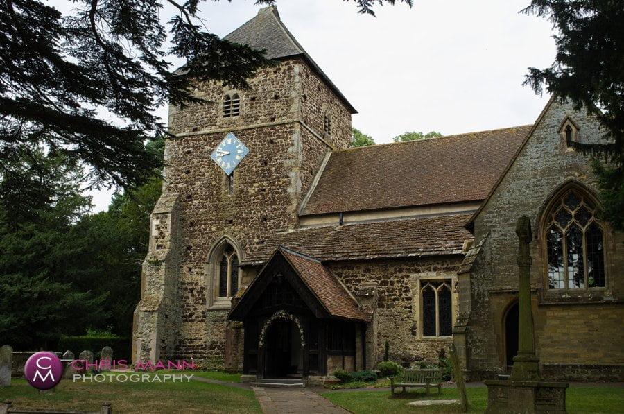 Surrey church wedding St Nicolas parish church Cranleigh