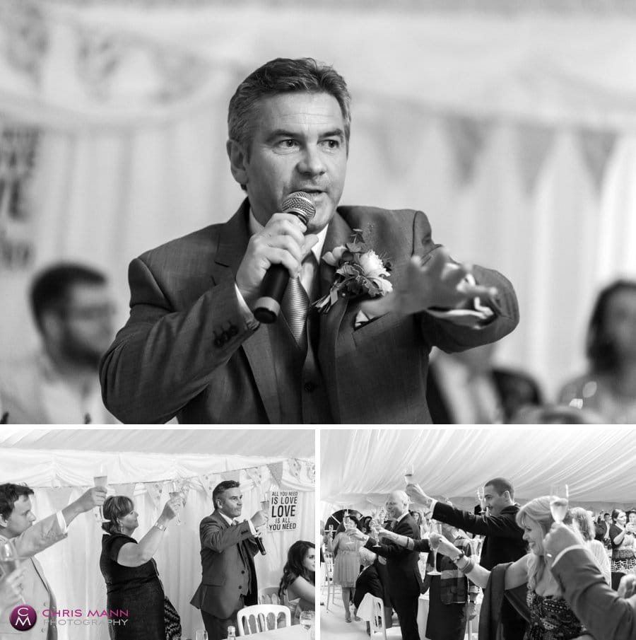 father of bride speeches reception wedding surrey