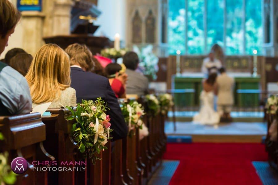 Surrey church wedding lydia ian cranleigh (10)