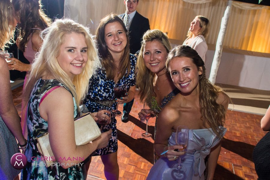 party time Surrey marquee wedding