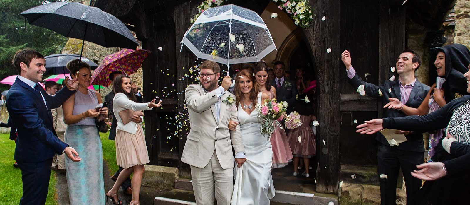 Surrey church wedding – Lydia & Ian