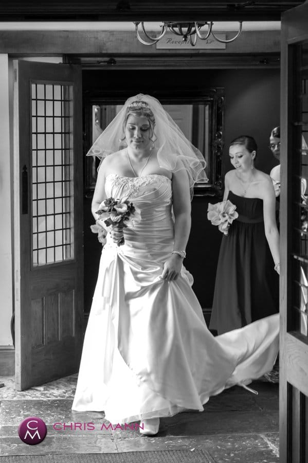 bride enters for ceremony