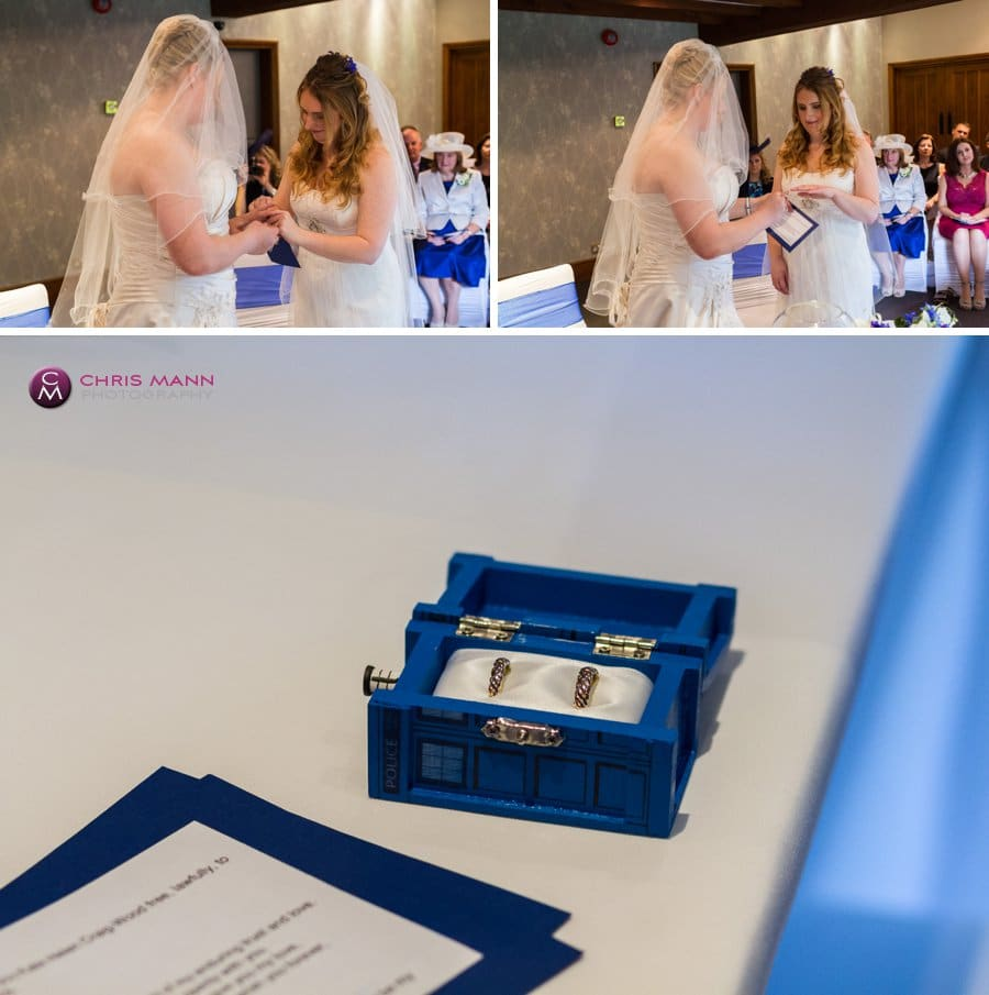 exchange of rings civil partnership surrey