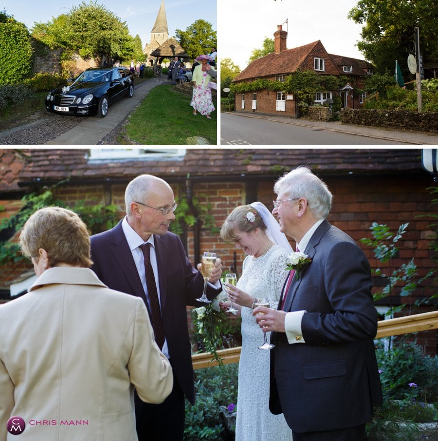 wedding reception kinghams shere surrey