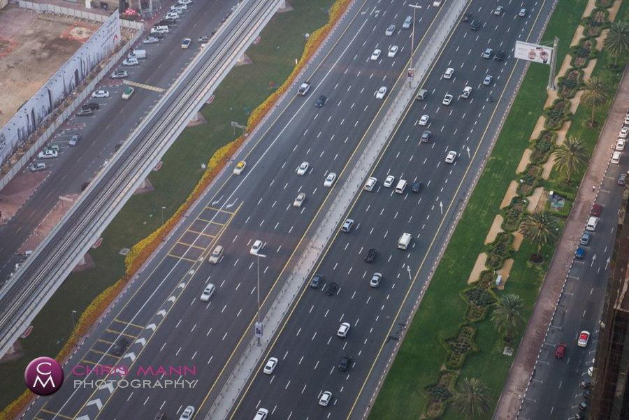 traffic on Sheikh Zayed Rd Dubai