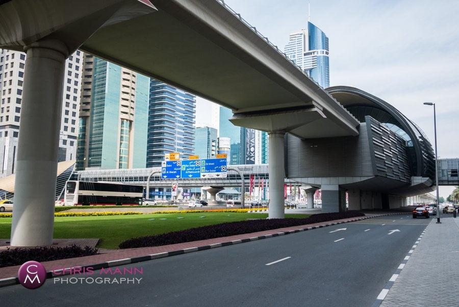 Emirates Towers station Dubai Metro