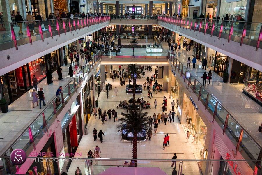 World's largest shopping mall - Dubai Mall