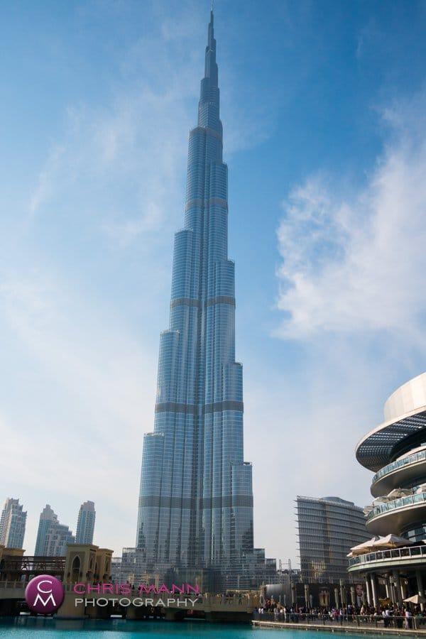 Burj Khalifa from Dubai Mall