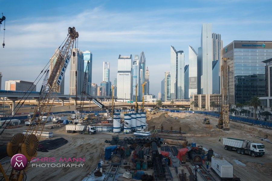 construction site Dubai