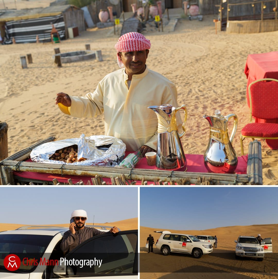 arab hospitality for wedding guests at Dubai desert wedding