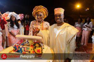 African wedding in the Dubai desert