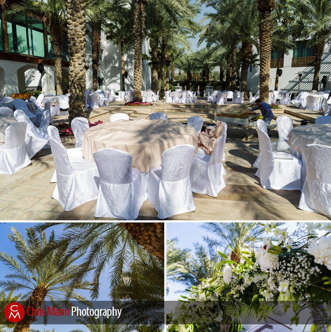 Palm and Fountain Gardens at the Park Hyatt Dubai