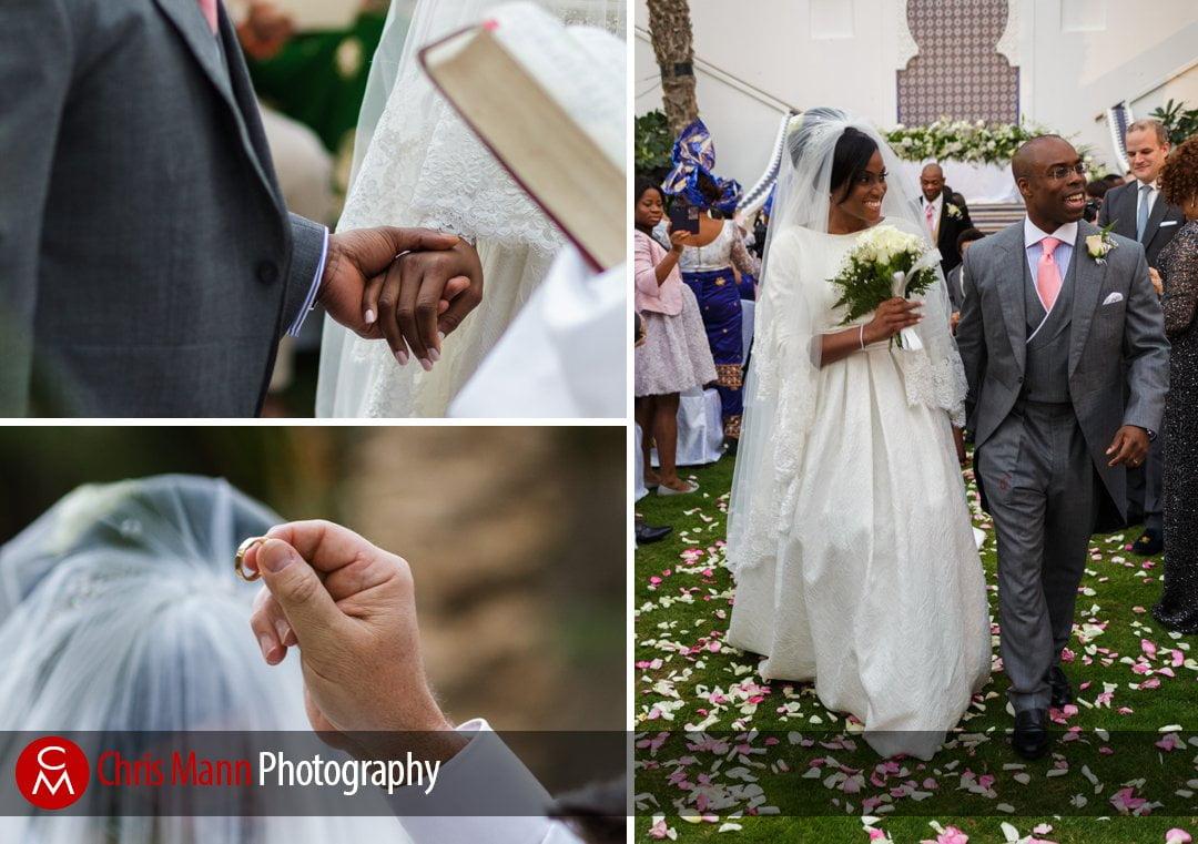 wedding ceremony at Park Hyatt Dubai
