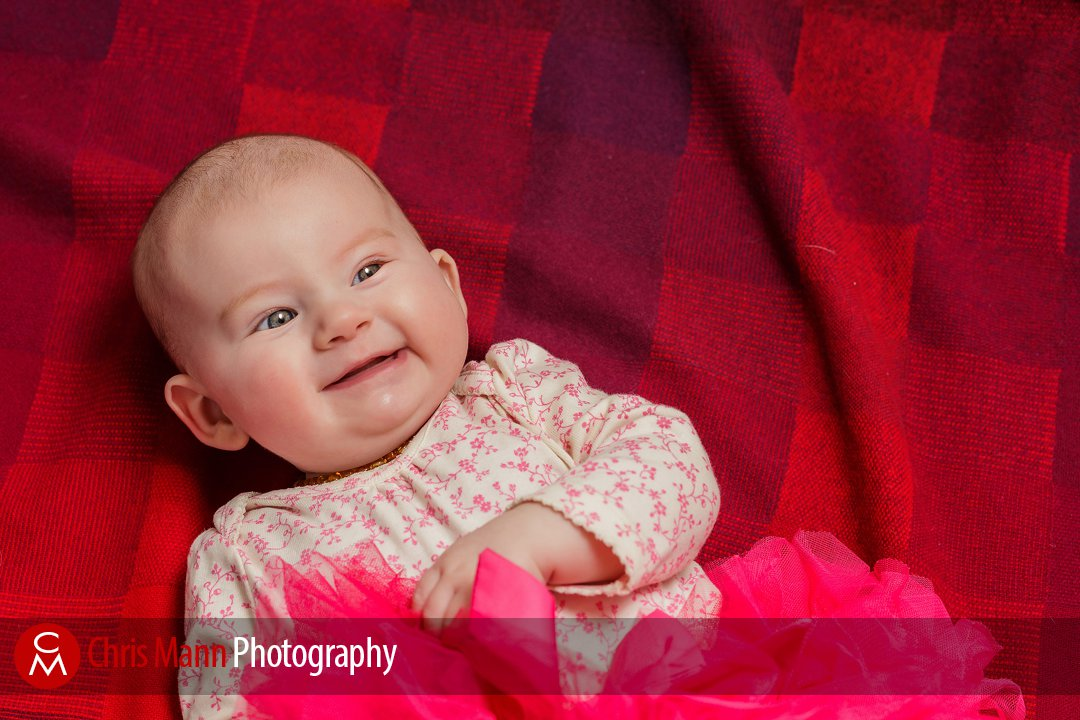 Guildford family portrait – baby K