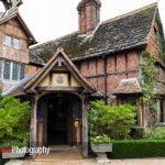 Langshott Manor front entrance