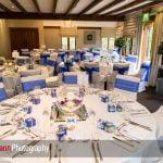 wedding breakfast at Langshott Manor
