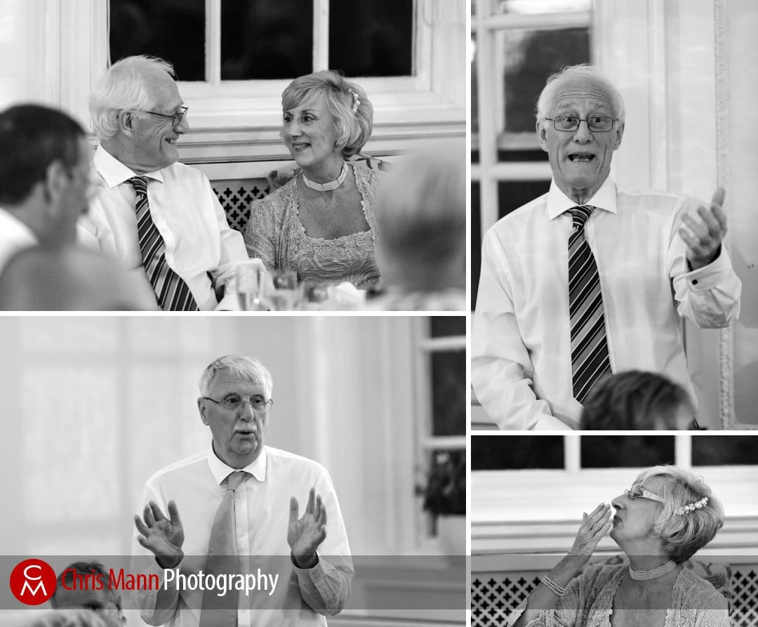 speeches at wedding breakfast black and white