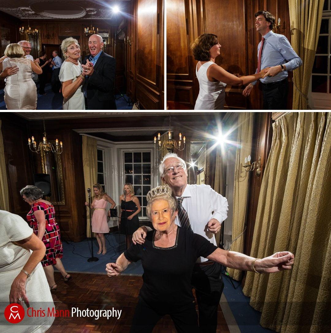 dancing guests wedding reception Barnett Hill