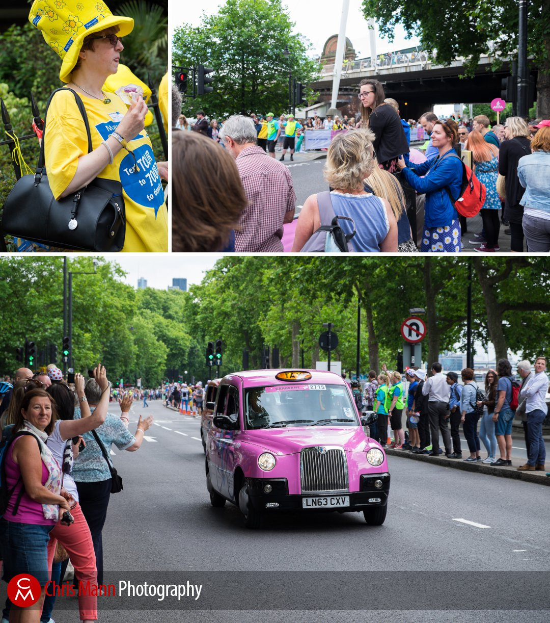 Tour de France 2014 stage 3 London spectators on the Embankment