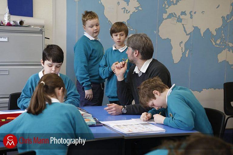 Photo Assignment: Primary School head teacher Ralf Smits