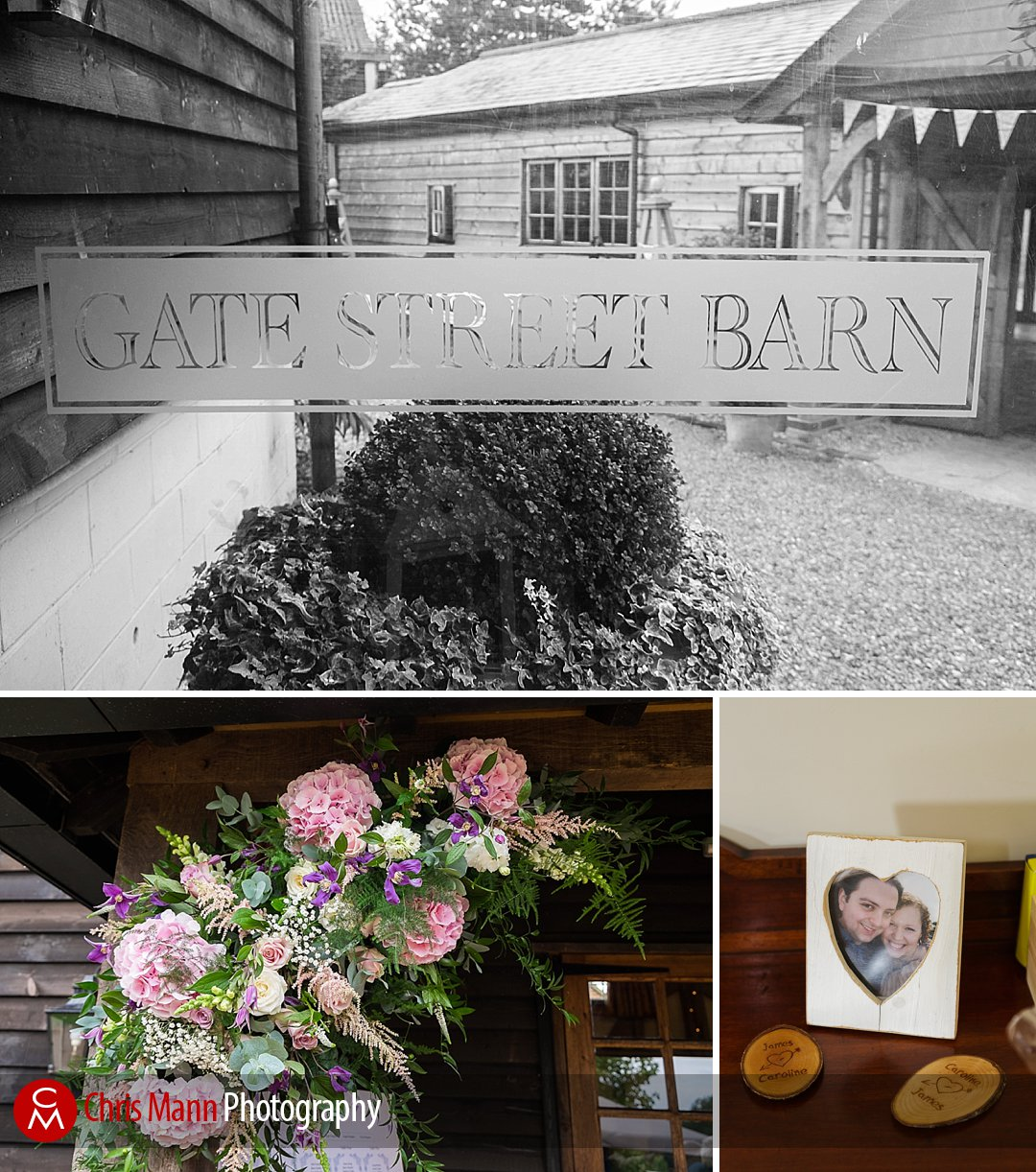 gate Street Barn wedding details