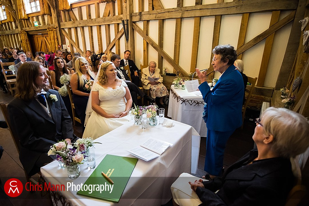 reading civil ceremony Gate Street Barn