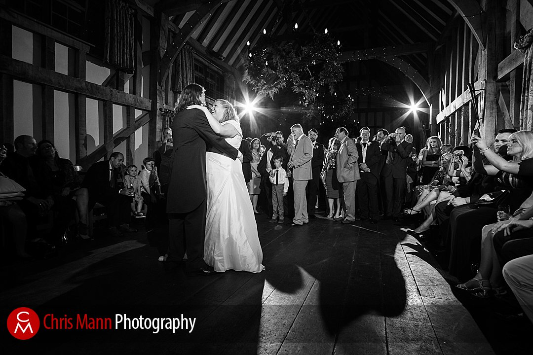 bride and groom first dance Gate Street Barn